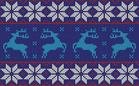 sueter: diseño de puente patrón de Navidad Vectores