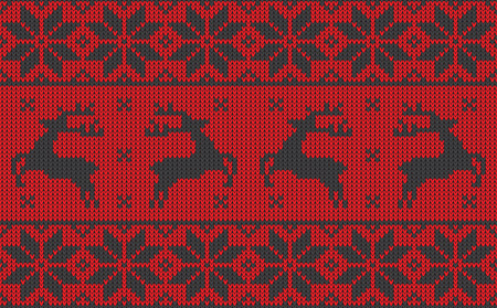 christmas jumper pattern design