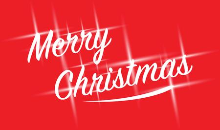 sparkling: merry christmas sparkling text