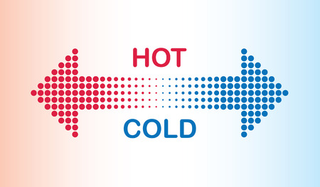 warmer: hot and cold