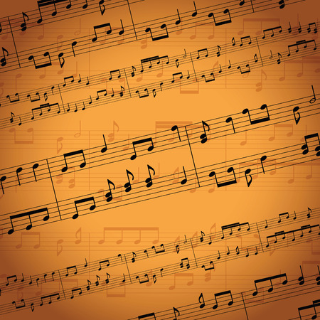 background music: music notes background