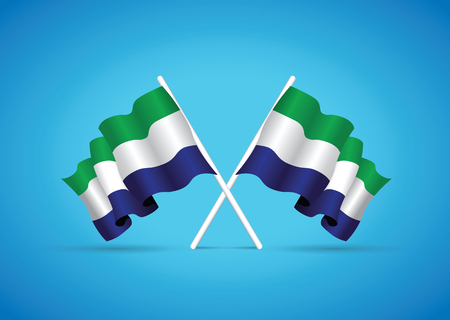 sierra leone: sierra leone national flag