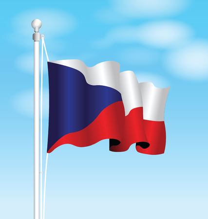 republic: czech republic flag
