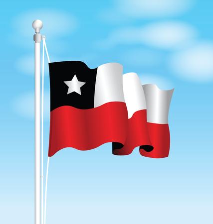 chilean flag: chile flag