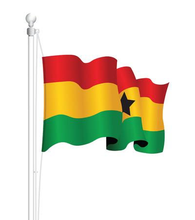 ghanese: ghana flag