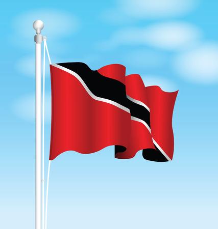 trinidad and tobago: Trinidad and Tobago national flag