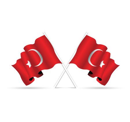 turquie drapeau national