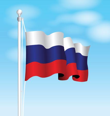 russia: russia flag