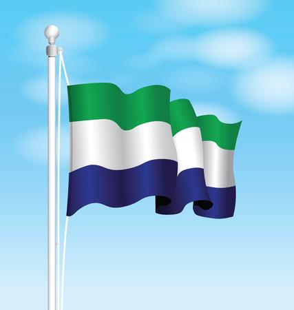 proportional: sierra leone national flag