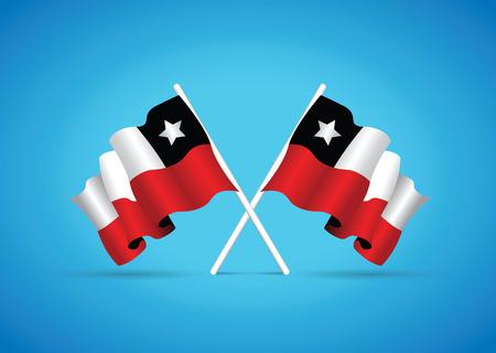chile flag: chile flag