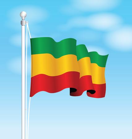 ethiopia flag: ethiopia flag