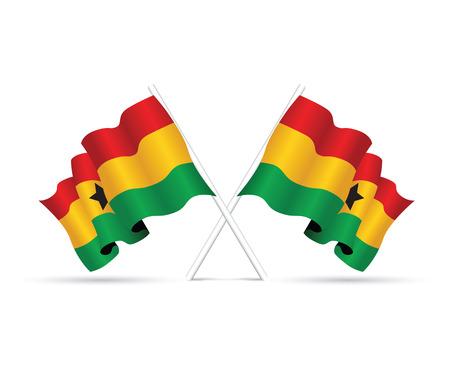 yellow green: ghana flag