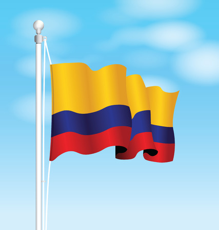 symbolical: colombia flag
