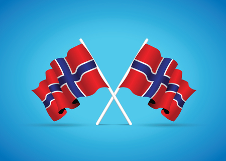 iceland flag: iceland flag Illustration