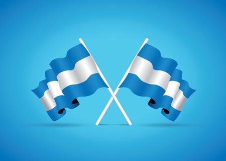 flag: argentina flag