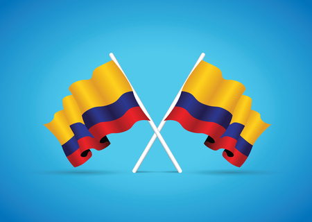 national flag: colombia flag