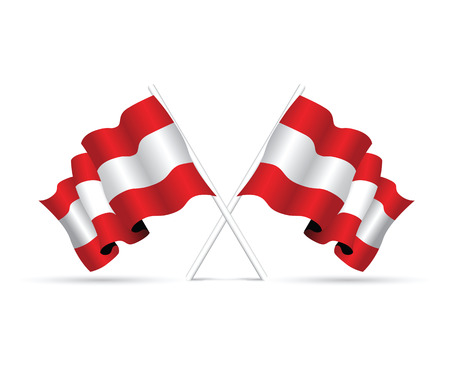 austria: austria flag