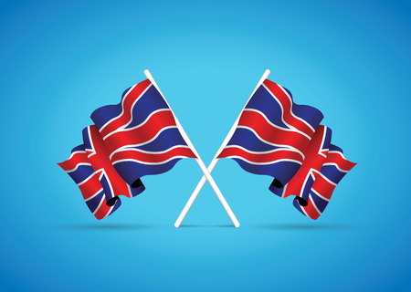 kingdom: united kingdom national flag Illustration