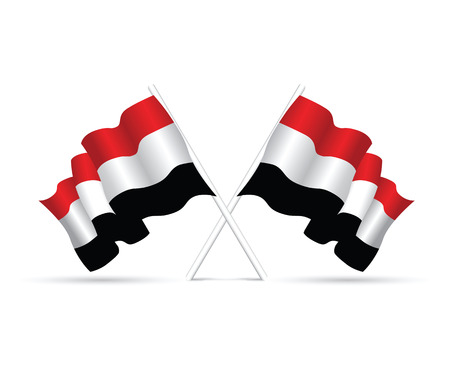 yemen: yemen national flag