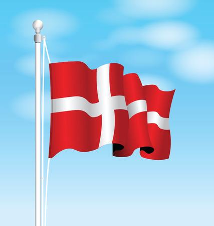 denmark flag: denmark flag