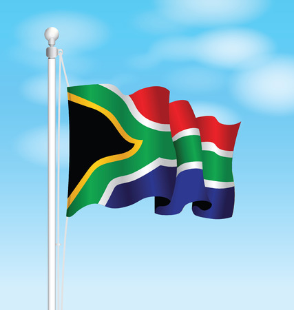 recollection: south africa national flag