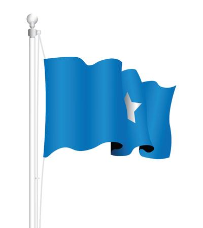 flagstaff: somalia national flag