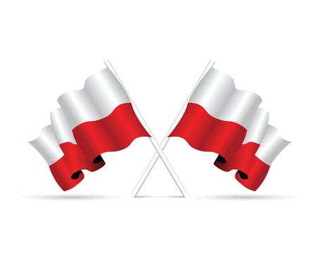 span: poland flag