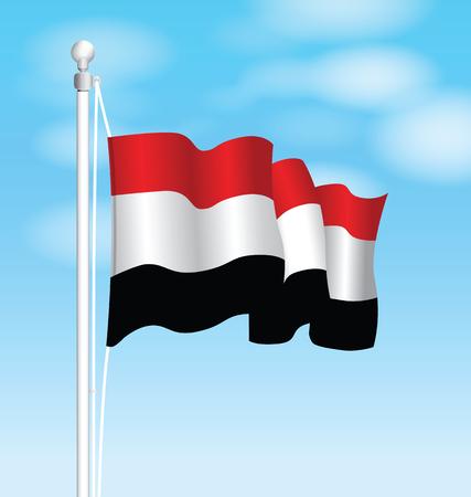 sep: yemen national flag