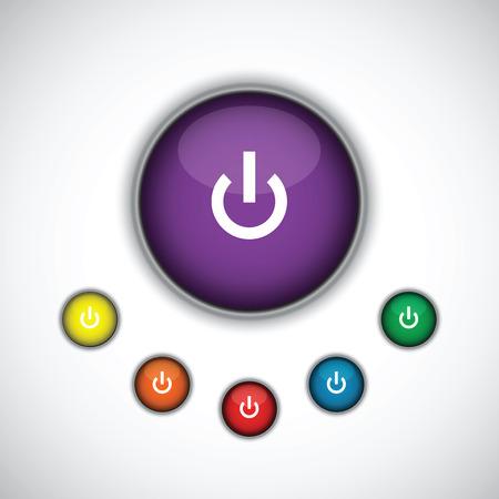 turn: turn on button set