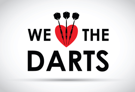 romance strategies: we love the darts Illustration