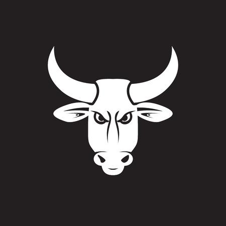 bull horn: black bull