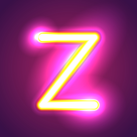 tubos fluorescentes: carta de iluminación Vectores
