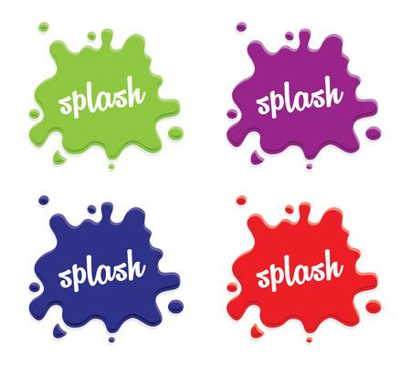 Milch-Splash-Set Standard-Bild - 55949610