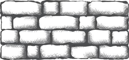 mur de brique noire