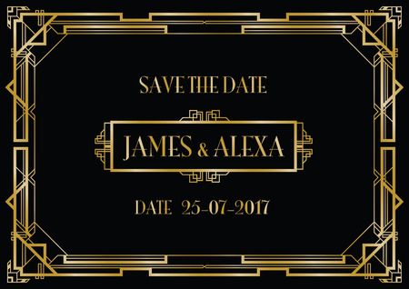 wedding guest: save the date wedding invitation