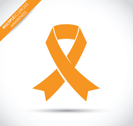 conquer: multiple sclerosis awareness Illustration