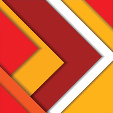 tactile: material design red