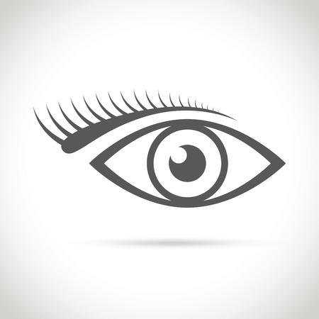 abstract eye: an abstract eye icon
