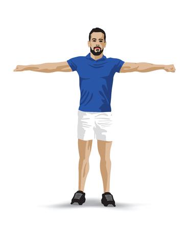 barbel: training pose