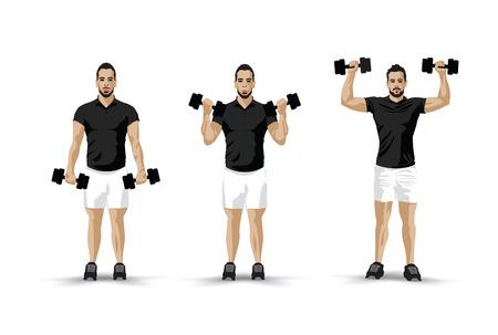 barbel: lifting weights