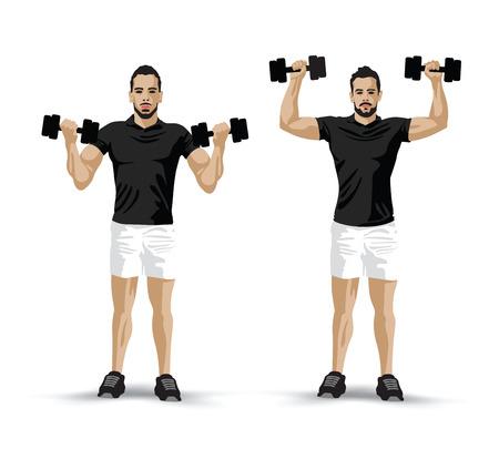 levantando pesas: levantamiento de pesas