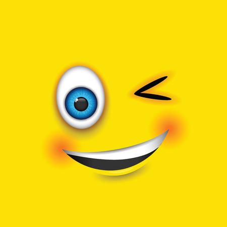 joking: winking emoji