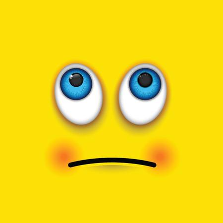 sad men: rolling eyes emoji