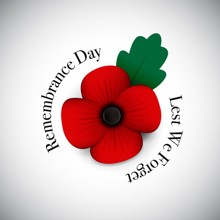 anzac: poppy background