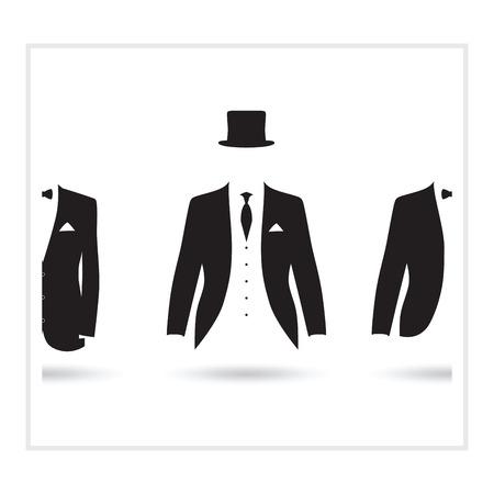 suit selection Illustration