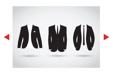 スーツの選択