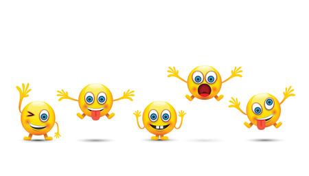 crazy: emoji set