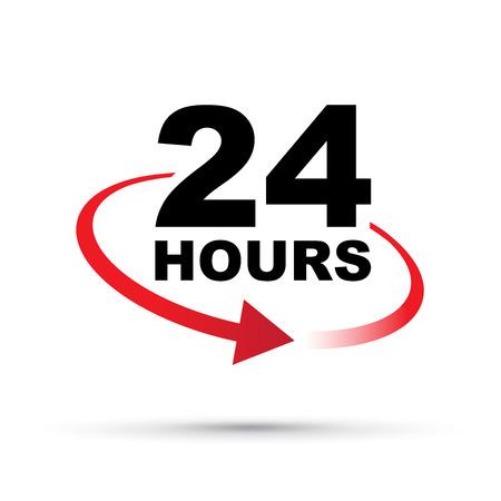 around the clock: twenty four hours around the clock