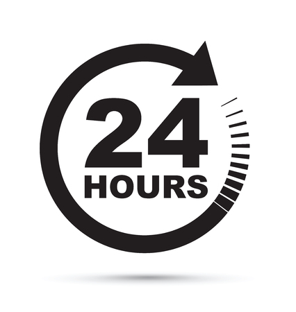 24 heures icône