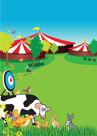 country fair background image